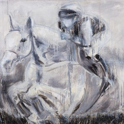 Dessie Tribute, Oil pigment on canvas, 3