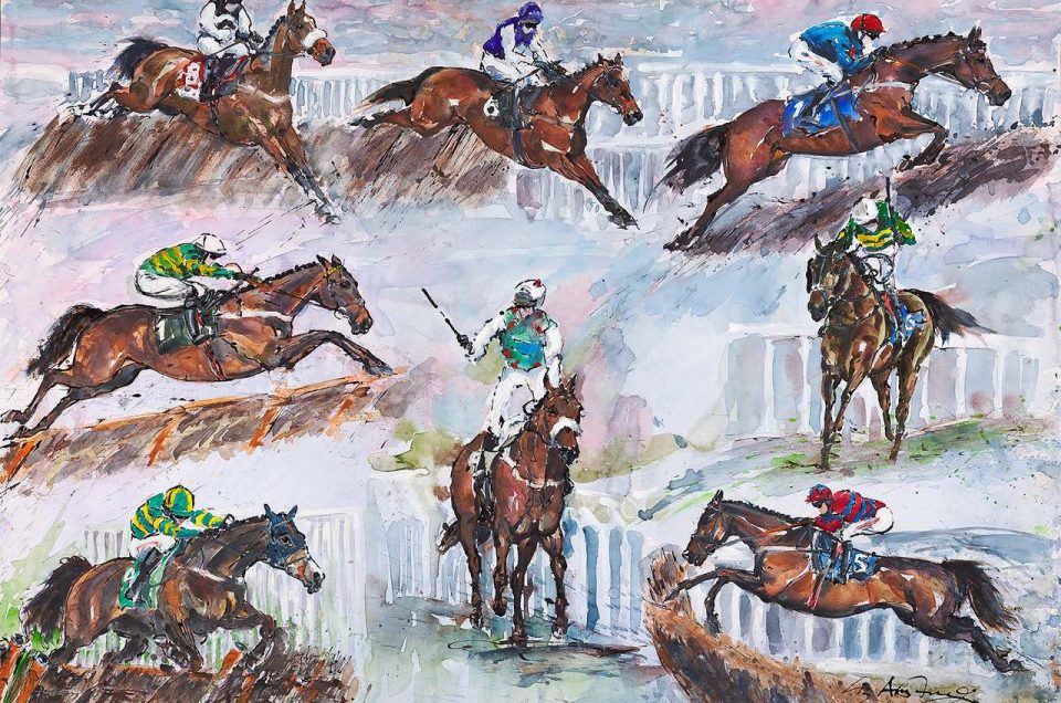 Commission from Barry Geraghty - Elizabeth Armstrong Art