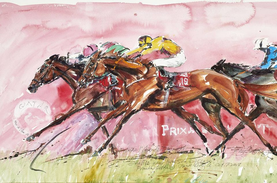 Enable by Elizabeth Armstrong Equine Art