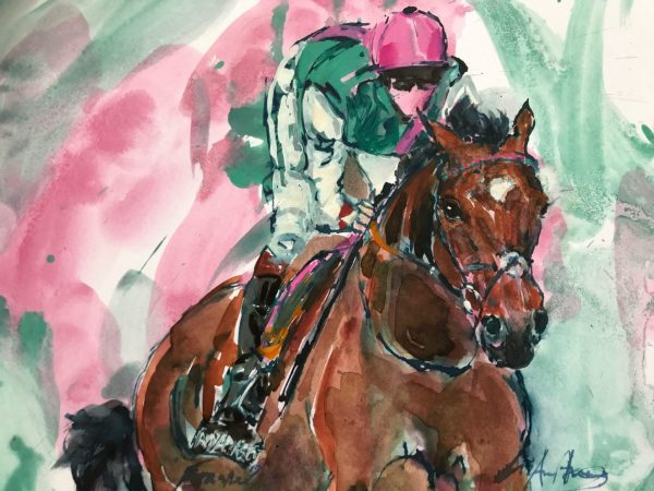 Iconic Frankel Water Colour - Elizabeth Armstrong