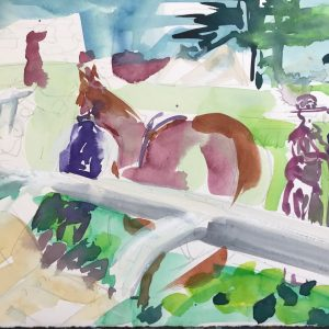 Parade Ring - Elizabeth Armstrong Art