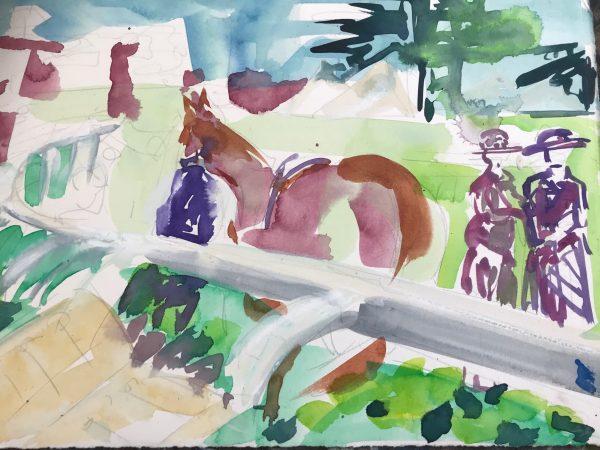 Parade Ring - Elizabeth Armstrong Art