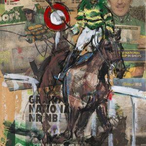 AP McCoy Don't Push It - Elizabeth Armstrong Equine Artist