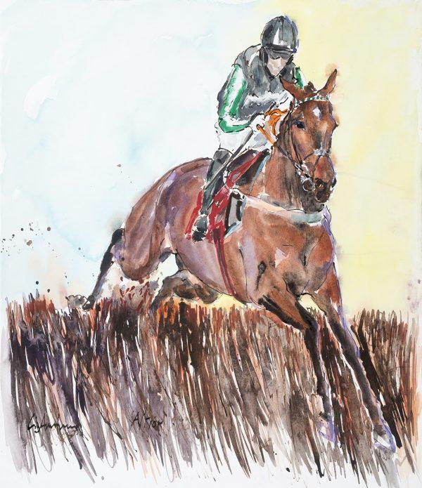 Altior - Elizabeth Armstrong Equine Artist