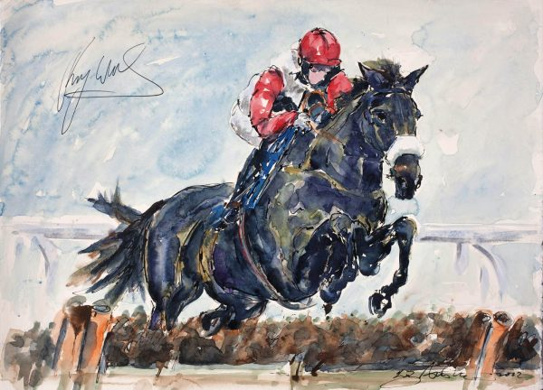 Big Bucks - Elizabeth Armstrong Equine Artist