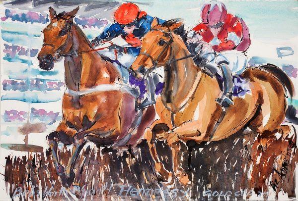 Bob's Worth - Elizabeth Armstrong Equine Artists