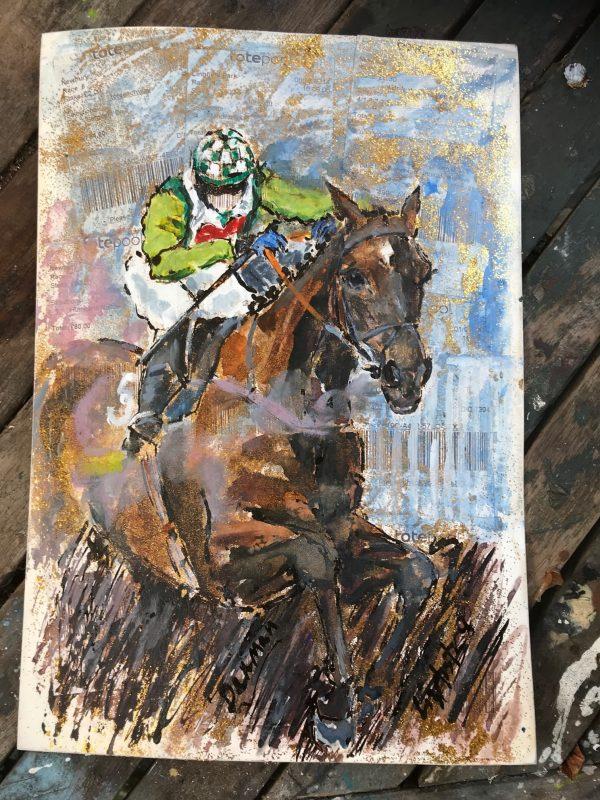 Denman - Elizabeth Armstrong Equine Artist