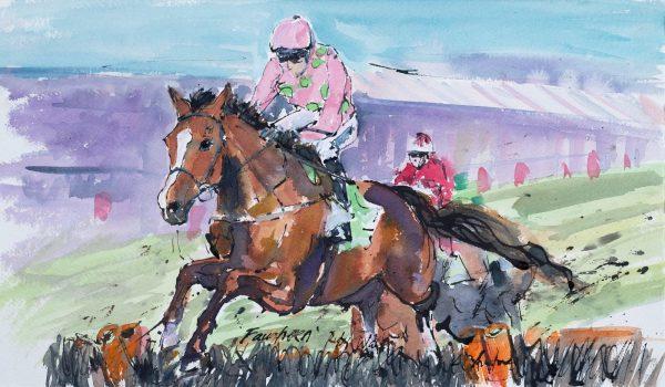 Faugheen - Elizabeth Armstrong Equine Artist