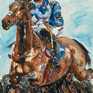 Frodon - Elizabeth Armstrong Equine Artist