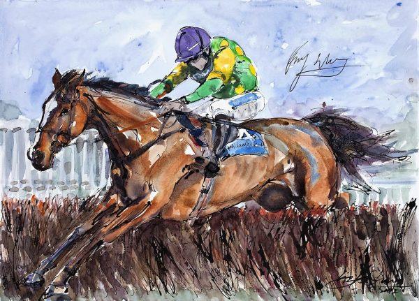 Kauto Star - Elizabeth Armstrong Equine Artist