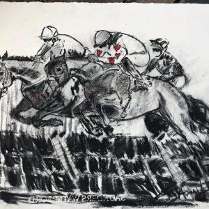 Love Always Wins - Elizabeth Armstrong Equine Art