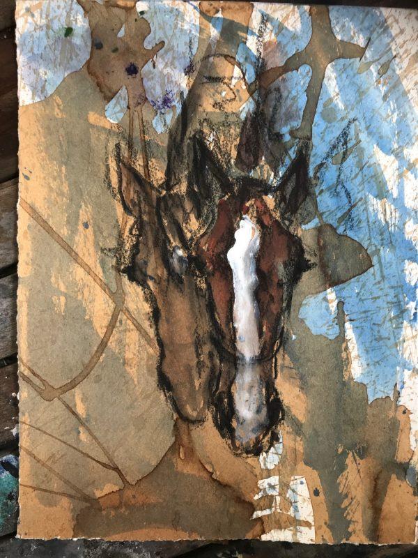 Mates - Elizabeth Armstrong Equine Art