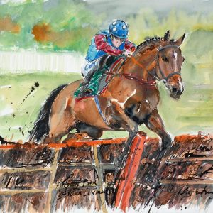 Paisley Park - Elizabeth Armstrong Equine Artist