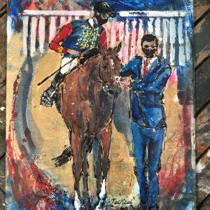 Tactical - Elizabeth Armstrong Equine Art