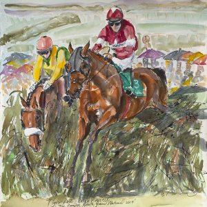 Tiger Roll - Elizabeth Armstrong Equine Artist