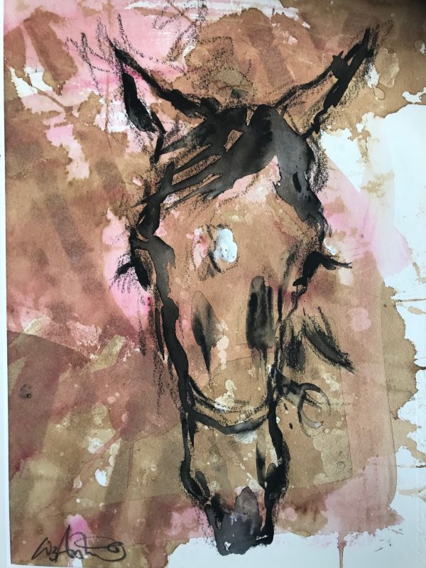 Yearling 2 - Elizabeth Armstrong Equine Art