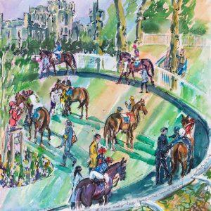 Parade Ring Windsor - Elizabeth Armstrong