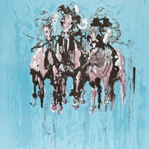 Pink riders in the sky - Elizabeth Armstrong
