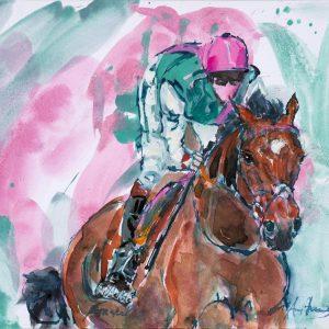 The Legend Frankel - Elizabeth Armstrong Art